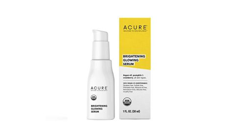 """<strong>Acure Brilliantly Brightening Glowing Serum ($12.05, originally $12.68; </strong><a href=""""https://amzn.to/2TryqfQ"""" target=""""_blank"""" target=""""_blank""""><strong>amazon.com</strong></a><strong>) </strong>"""