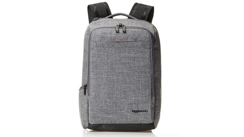 """<strong>AmazonBasics Slim Carry On Travel Backpack ($55.24, originally $64.99; </strong><a href=""""https://amzn.to/2PFRwkm"""" target=""""_blank"""" target=""""_blank""""><strong>amazon.com</strong></a><strong>) </strong>"""
