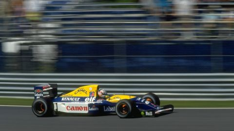 Williams had been working for some time on different avenues of F1 car development and they all came together in 1992 with the Williams FW14B, one of the most successful and arguably the most sophisticated F1 car of all time.