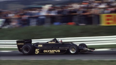 The 79 saw Lotus dominate with Mario Andretti winning the drivers' title and the team winning the constructors' championship.