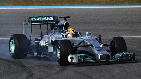 Any major change in the technical rules represents opportunity ... but the final key factor was Lewis Hamilton making the bold decision to leave McLaren and align his future with Mercedes.