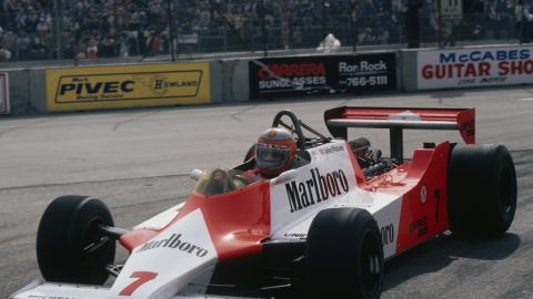 The MP4/1 was complex but immensely strong and light -- the two perpetual overarching aims in racing car design.
