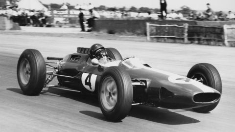 """Introduced halfway through 1962, the Lotus 25 revolutionized racing car construction with the """"monocoque"""" chassis."""