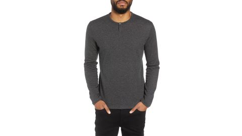 """<strong>Calibrate Snap Henley ($35.70, originally $59.50; </strong><a href=""""https://click.linksynergy.com/deeplink?id=Fr/49/7rhGg&mid=1237&u1=1118nordstrombf&murl=https%3A%2F%2Fshop.nordstrom.com%2Fs%2Fcalibrate-snap-henley%2F4831167%3Forigin%3Dcategory-personalizedsort%26breadcrumb%3DHome%252FSale%252FMen%26color%3Dnavy%2520night%2520heather"""" target=""""_blank"""" target=""""_blank""""><strong>nordstrom.com</strong></a><strong>) </strong><br />"""