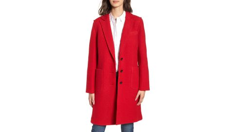 """<strong>Olga Boiled Wool Topcoat ($138.90, originally $278; </strong><a href=""""https://click.linksynergy.com/deeplink?id=Fr/49/7rhGg&mid=1237&u1=1118nordstrombf&murl=https%3A%2F%2Fshop.nordstrom.com%2Fs%2Fj-crew-olga-boiled-wool-topcoat-regular-petite%2F4944515%3Forigin%3Dcategory-personalizedsort%26breadcrumb%3DHome%252FSale%252FWomen%252FClothing%26color%3Dbright%2520red"""" target=""""_blank"""" target=""""_blank""""><strong>nordstorm.com</strong></a><strong>) </strong><br />"""