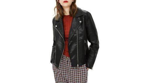 "<strong>Topshop Rosa Biker Jacket ($52.80, originally $88; </strong><a href=""https://click.linksynergy.com/deeplink?id=Fr/49/7rhGg&mid=1237&u1=1118nordstombf&murl=https%3A%2F%2Fshop.nordstrom.com%2Fs%2Ftopshop-rosa-biker-jacket-regular-petite%2F4972522%3Forigin%3Dcategory-personalizedsort%26breadcrumb%3DHome%252FSale%252FWomen%26color%3Dblack"" target=""_blank"" target=""_blank""><strong>nordstrom.com</strong></a><strong>) </strong><br />"
