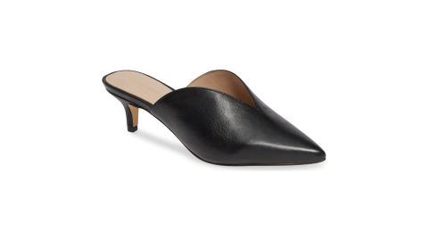 """<strong>Something Navy Utopia Kitten Heel Mule ($59.96, originally $99.95; </strong><a href=""""https://click.linksynergy.com/deeplink?id=Fr/49/7rhGg&mid=1237&u1=1118nordstrombf&murl=https%3A%2F%2Fshop.nordstrom.com%2Fs%2Fsomething-navy-utopia-kitten-heel-mule-women-nordstrom-exclusive%2F4998519%3Forigin%3Dcategory-personalizedsort%26breadcrumb%3DHome%252FSale%252FWomen%26color%3Dred%2520suede"""" target=""""_blank"""" target=""""_blank""""><strong>nordstrom.com</strong></a><strong>) </strong><br />"""