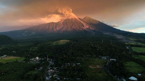 <strong>Volcán de Fuego, Guatemala: </strong>Close to 4,000 people were evacuated from their homes in November when Guatemala's Fuego volcano erupted, spewing ash and lava.