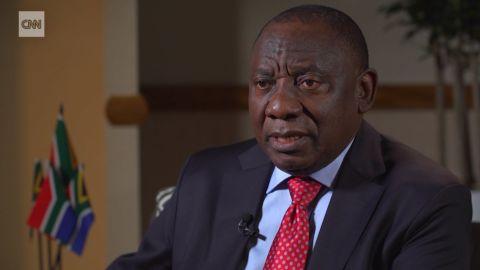 Cyril Ramaphosa interview