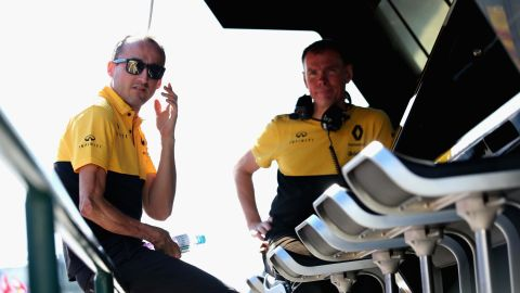 Robert Kubica will drive for Williams during the 2019 Formula One season