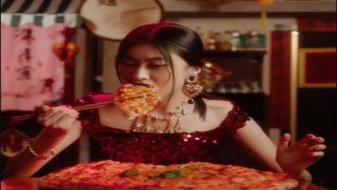 A video ad showing a Chinese woman struggling to eat pizza with chopsticks has unleashed a firestorm for D&G.