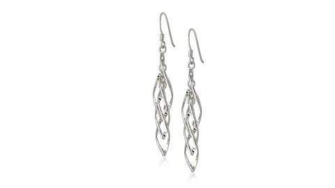 """<strong>Sterling Silver Linear Swirl French Wire Earrings ($13.30, originally $27.99; </strong><a href=""""https://amzn.to/2OXblyb"""" target=""""_blank"""" target=""""_blank""""><strong>amazon.com</strong></a><strong>) </strong>"""
