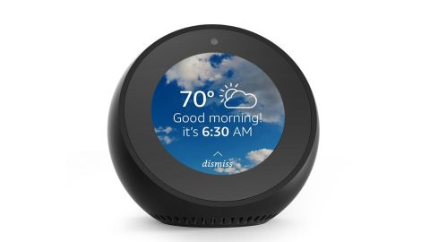 """<strong>Echo Spot Smart Display with Alexa ($99.99, originally $129.99; </strong><a href=""""https://amzn.to/2PwRC91"""" target=""""_blank"""" target=""""_blank""""><strong>amazon.com</strong></a><strong>)</strong>"""
