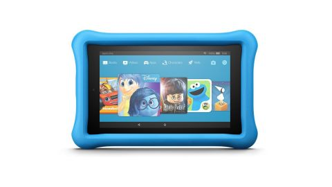 """<strong>Amazon Fire 7 Kids Edition Tablet ($69.99, originally $99.99; </strong><a href=""""https://amzn.to/2PxGOrk"""" target=""""_blank"""" target=""""_blank""""><strong>amazon.com</strong></a><strong>)</strong>"""