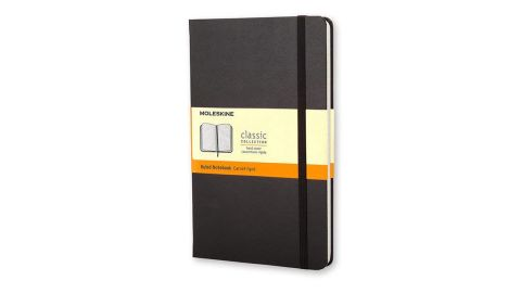 """<strong>Moleskine Classic Notebook ($11.83, originally $14.79; </strong><a href=""""https://amzn.to/2S6cO7g"""" target=""""_blank"""" target=""""_blank""""><strong>amazon.com</strong></a><strong>)</strong>"""