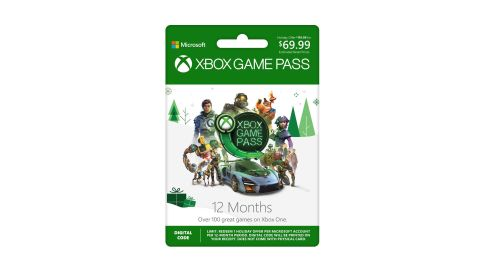 """<strong>Xbox Game Pass: 12 Month Membership ($69.99, originally $119.99; </strong><a href=""""https://amzn.to/2zoEQUF"""" target=""""_blank"""" target=""""_blank""""><strong>amazon.com</strong></a><strong>)</strong>"""