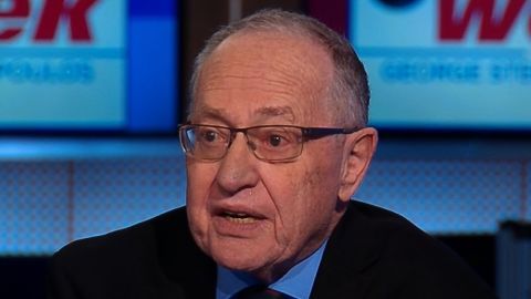 "NS Slug: ABC: DERSHOWITZ- MUELLER RPT WILL BE DEVASTATING TO TRUMP  Synopsis: Alan Dershowitz says Mueller report will be ""devastating"" politically to President Trump  Keywords:"