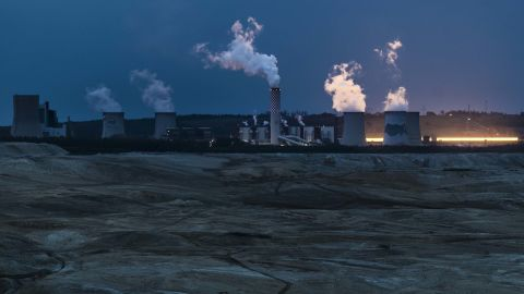 A coal-fired power station in Bogatynia, Poland.