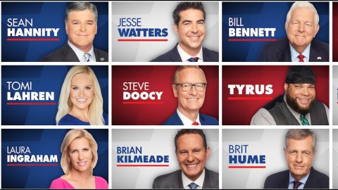 Some of the personalities that will appear on Fox Nation.