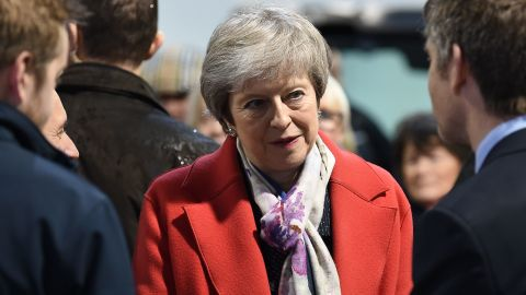 Prime Minister Theresa May is trying to sell her Brexit plan to a skeptical parliament.