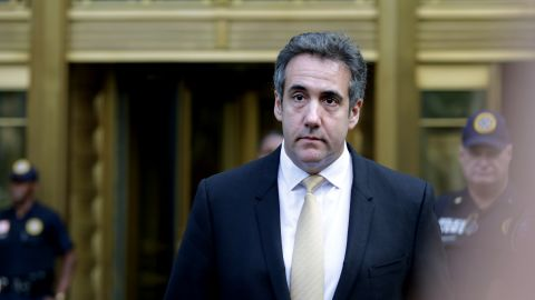 NEW YORK, NY - AUGUST 21: Michael Cohen, former lawyer to U.S. President Donald Trump, exits the Federal Courthouse on August 21, 2018 in New York City. Cohen reached an agreement with prosecutors, pleading guilty to charges involving bank fraud, tax fraud and campaign finance violations.(Yana Paskova/Getty Images)
