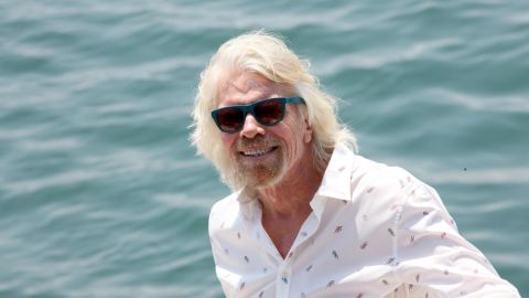 File photo of British businessman Richard Branson, who will host a concert on Friday evening.