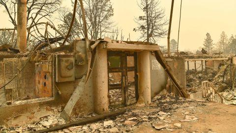 The Camp Fire destoryed Paradise Elementary School.
