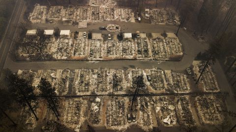 The Camp Fire obliterated most of the Northern California city of Paradise last month.