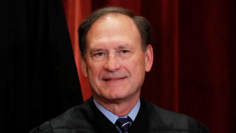 U.S. Supreme Court Associate Justice Samuel Alito, Jr is seen during a group portrait session for the new full court at the Supreme Court in Washington, U.S., November 30, 2018. REUTERS/Jim Young