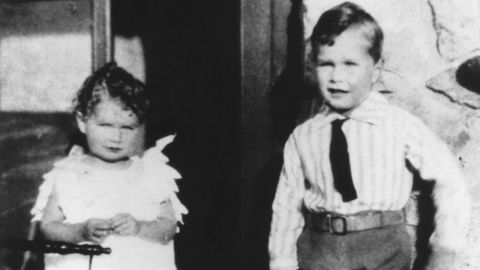Bush is pictured with his sister, Mercy, in 1929. He was born June 12, 1924, in Milton, Massachusetts. Their father, Prescott Bush, was a successful Wall Street banker who became a US senator in 1952.
