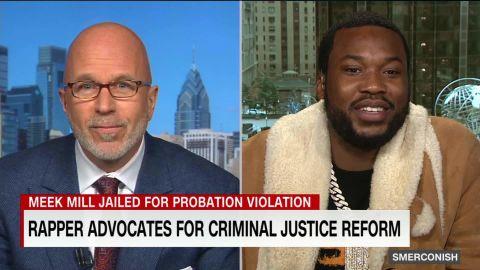 Meek Mill on prison reform, Kanye, new album_00004520.jpg