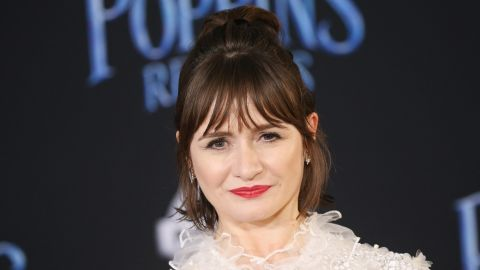 """Emily Mortimer, who appears in Disney's """"Mary Poppins Returns,"""" will also join in the festivities."""