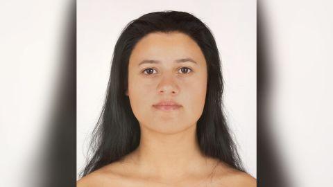 A DNA analysis shows that Ava had black hair, brown eyes and a Mediterranean complexion.