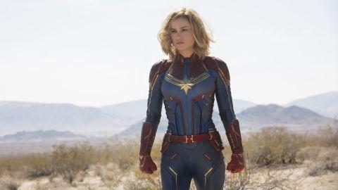 Brie Larson in 'Captain Marvel' (Chuck Zlotnick..©Marvel Studios 2019)