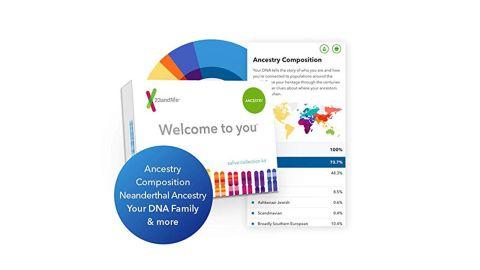 "<strong>23andMe DNA Test ($68.97, originally $99; </strong><a href=""https://amzn.to/2rFvZtP"" target=""_blank"" target=""_blank""><strong>amazon.com</strong></a><strong>)</strong>"