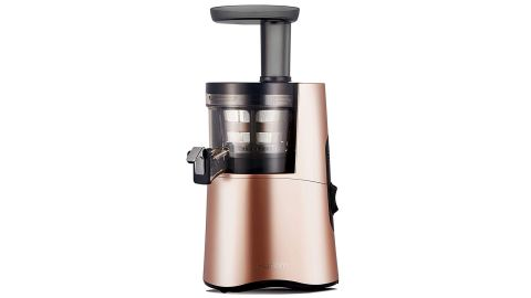 """<strong>Hurom H-AA Slow Juicer, Rose Gold ($413.99, originally $459; </strong><a href=""""https://amzn.to/2EqrefQ"""" target=""""_blank"""" target=""""_blank""""><strong>amazon.com</strong></a><strong>)</strong>"""
