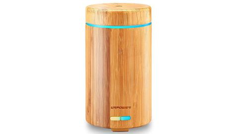 """<strong>URPOWER real bamboo essential oils diffuser ($29.99; </strong><a href=""""https://amzn.to/2LfSOx6"""" target=""""_blank"""" target=""""_blank""""><strong>amazon.com</strong></a><strong>)</strong>"""