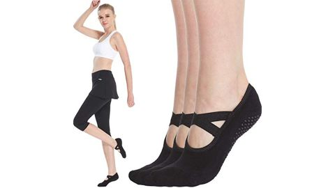 "<strong>Qing Yoga Socks for Women ($16.56, originally $19.99; </strong><a href=""https://amzn.to/2PxYKSu"" target=""_blank"" target=""_blank""><strong>amazon.com</strong></a><strong>)</strong>"