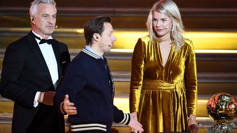 """French DJ and co-host Martin Solveig has apologized to Hegerberg after asking her: """"Do you know how to twerk?"""""""