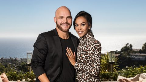 """Singer and Destiny's Child member Michelle Williams announced in December that she and sports chaplain Chad Johnson had ended their engagement. The couple announced in April that they planned to marry and were the subject of the OWN reality series """"Chad loves Michelle"""" which focused on their intensive pre-marital counseling."""