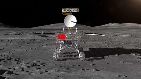 China's Chang'e-4 lunar probe rover.