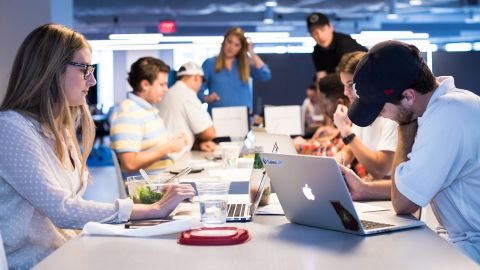 SalesLoft puts a heavy emphasis on workplace culture, and its  five core values are repeated often.