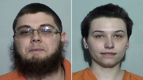 Authorities said Damon Joseph, 21, planned to kill worshipers inside a Jewish synagogue in Toledo with an assault rifle. In a second case, Elizabeth Lecron, 23, is accused of purchasing bomb-making materials she intended to use to blow up a pipeline.