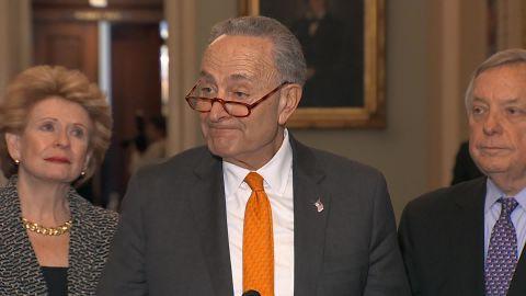 Sen Chuck Schumer Trump gov shutdown thumb vpx