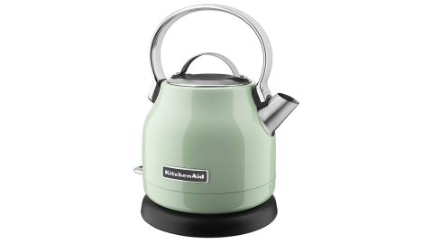 """<strong>KitchenAid KEK1222PT 1.25-Liter Electric Kettle ($59.99, originally $99.99; </strong><a href=""""https://amzn.to/2QmuK1c"""" target=""""_blank"""" target=""""_blank""""><strong>amazon.com</strong></a><strong>)</strong>"""