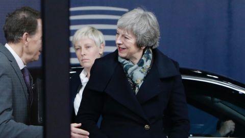 May's frantic meetings continue as she's due to meet Irish Premier Leo Varadkar in Dublin on Wednesday.