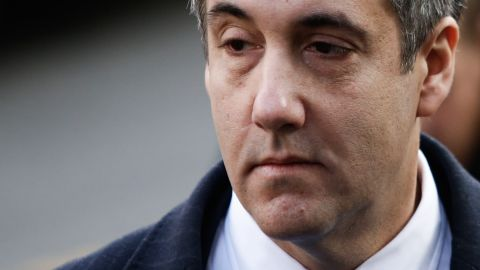 Michael Cohen, President Donald Trump's former personal attorney and fixer, arrives at federal court for his sentencing hearing, December 12, 2018 in New York City. (Eduardo Munoz Alvarez/Getty Images)