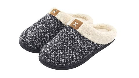 """<strong>Women's Cozy Memory Foam Slippers (starting at $19.90; </strong><a href=""""https://amzn.to/2QPbZTu"""" target=""""_blank"""" target=""""_blank""""><strong>amazon.com</strong></a><strong>)</strong>"""
