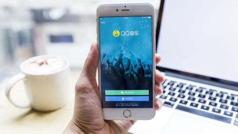 Tencent Music dominates music streaming in China with apps like QQ Music.