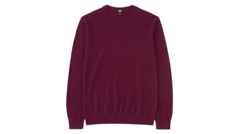 """<strong>Fashionable gifts for dad: The sweater</strong><br />Uniqlo cashmere crewneck sweater ($69.90, originally $89.90; <a href=""""https://click.linksynergy.com/deeplink?id=Fr/49/7rhGg&mid=40462&u1=1211mensfashiongifts&murl=https%3A%2F%2Fwww.uniqlo.com%2Fus%2Fen%2Fmen-cashmere-crew-neck-long-sleeve-sweater-409181.html%3Fdwvar_409181_color%3DCOL18%23start%3D1%26cgid%3Dmen-sweaters"""" target=""""_blank"""" target=""""_blank"""">uniqlo.com</a>)"""